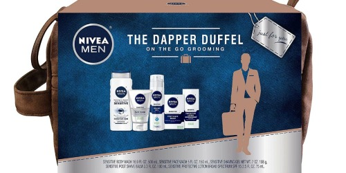 Amazon: Nivea for Men Sensitive Collection 5-Piece Gift Set Only $12.50 Shipped (Regularly $25) + More