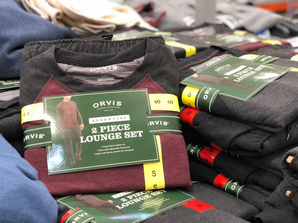 ORVIS men's lounge set at Costco