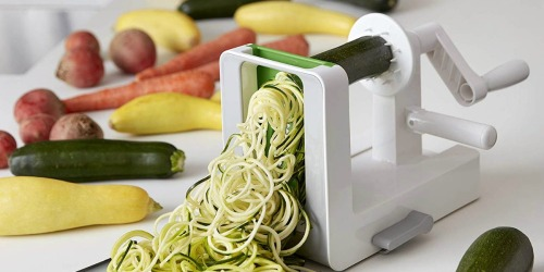 Amazon: OXO 3-Blade Spiralizer w/ Suction Base Just $23.97 Shipped (Regularly $40)