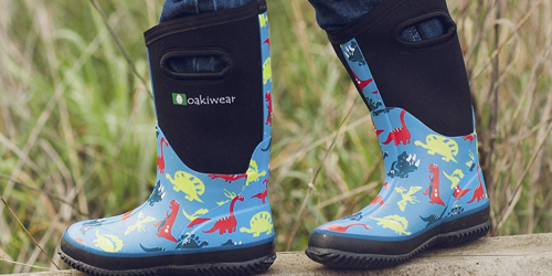 Oakiwear Kids Neoprene Boots Only $24.79 on Zulily