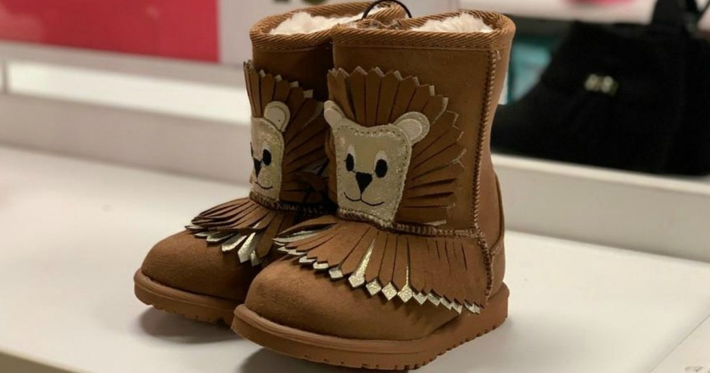 b9acaa641ec6e Okie Dokie Girls Bing Winter Pull-on Boots  45. Okie Dokie Toddler Girls  Lil Ribbon Bootie Flat Heel Zip  45. Total    135. Minus Buy 1