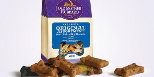 Amazon: Old Mother Hubbard Dog Treats Just $4.19 Shipped (Regularly $15)