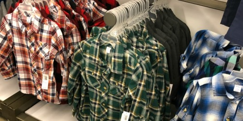 Old Navy Flannel Shirts Only $8-$10 (Regularly up to $37)
