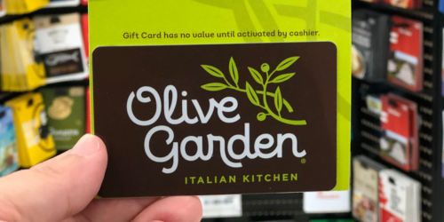 FREE $10 Olive Garden Bonus Gift Card with EVERY $50 Gift Card Purchase