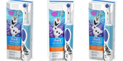 Amazon: Oral-B Kids Electric Toothbrush w/ 2  Brush Heads Only$14.99 Shipped (Regularly $32)