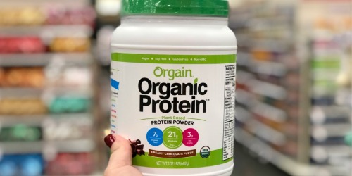 Up to 60% Off Orgain Organic Plant-Based Protein Powder at Target