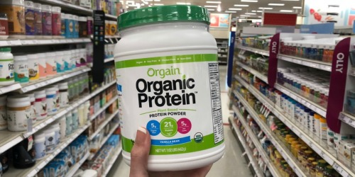 Orgain Organic Protein Powder 2LB Container Only $16.57 Shipped (Regularly $25)