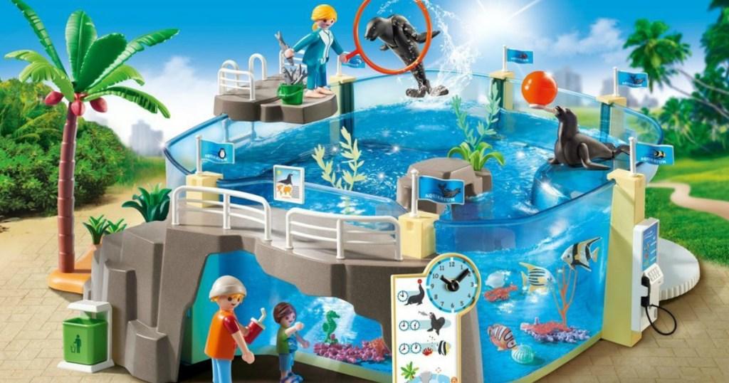 Playmobile Aquarium playset