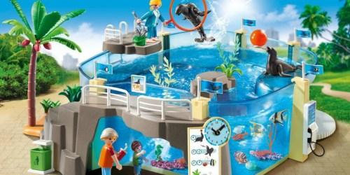 PLAYMOBIL Aquarium Building Set Only $32.99 Shipped (Regularly $60) + More