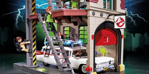 PLAYMOBIL Ghostbusters Firehouse Set Only $49.99 Shipped (Regularly $70) + More