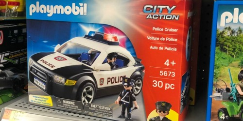 PLAYMOBIL Police Cruiser Only $12.99 (Regularly $25) + More