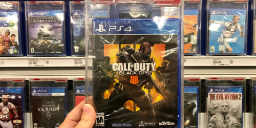 Amazon: Call of Duty: Black Ops 4 Video Game Only $39.99 Shipped (Regularly $60) + More