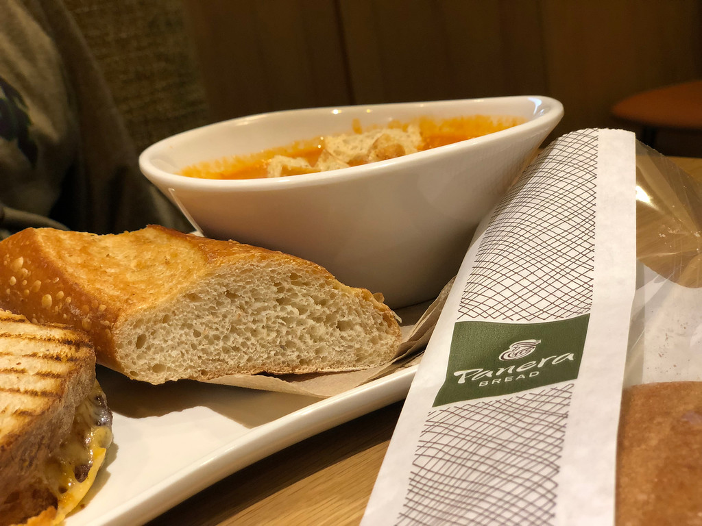 FREE $10 Panera Bread Gift Card W/ Every $50 Gift Card