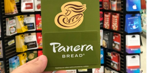FREE $10 Panera Bread Gift Card w/ Every $50 Gift Card Purchase