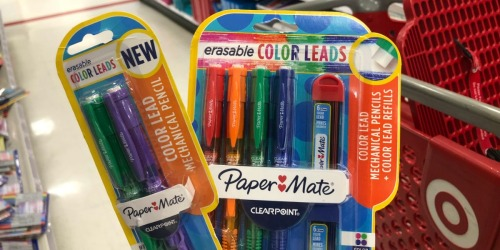 40% Off Paper Mate Color Leads Mechanical Pencil Twin Pack + More