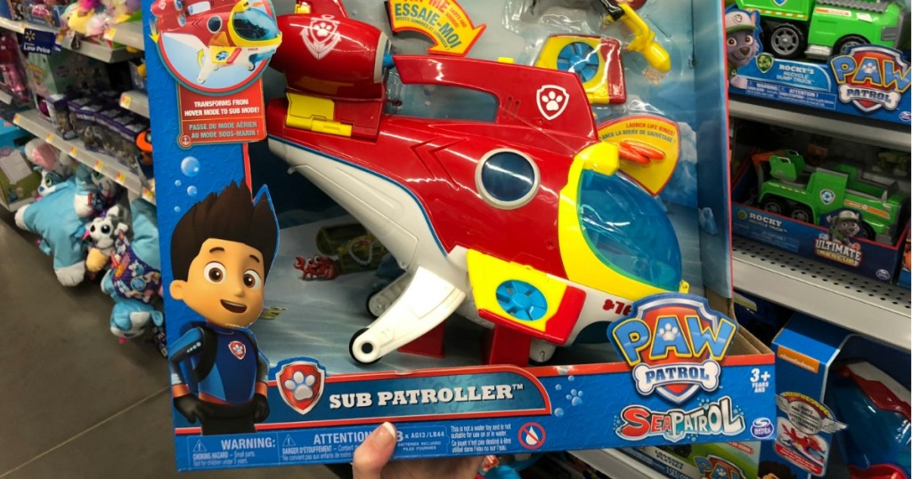 Amazon Paw Patrol Sub Patroller Only 24 84 Shipped More Hip2save