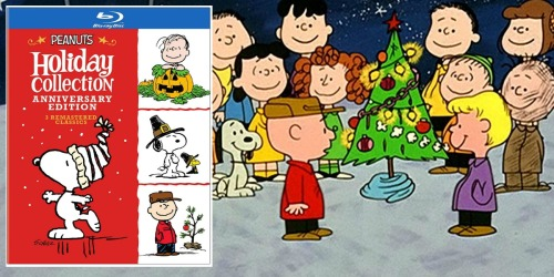 Peanuts Holiday Anniversary Blu-ray Collection as Low as $8.99 (Regularly $40)