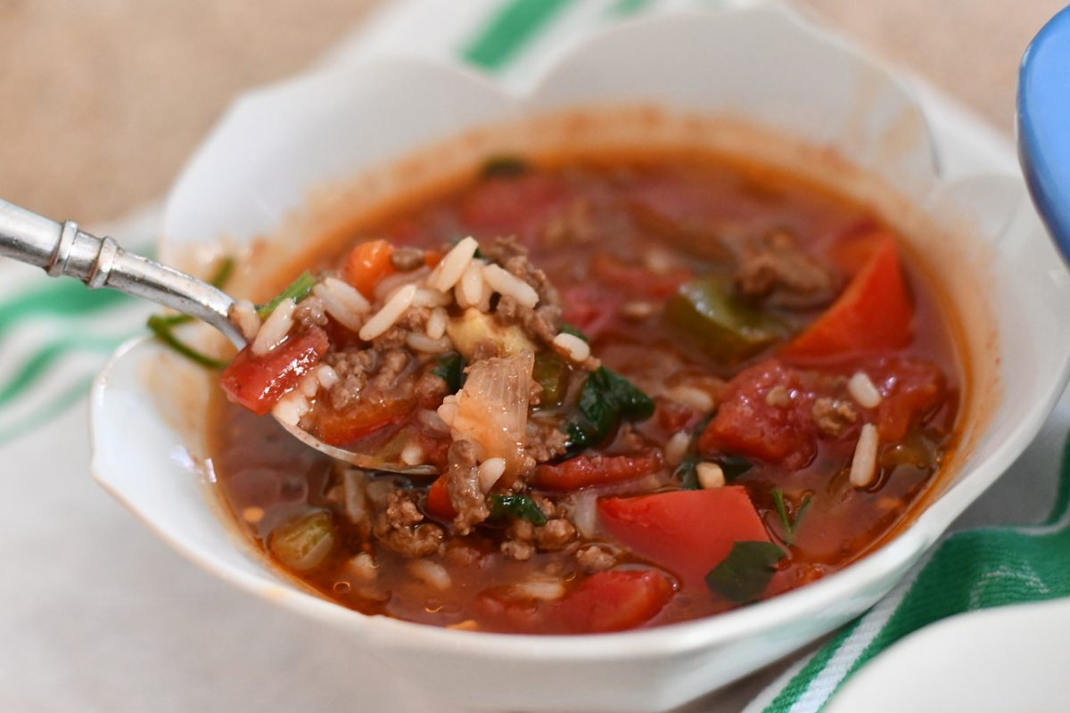 Stuffer Pepper Soup