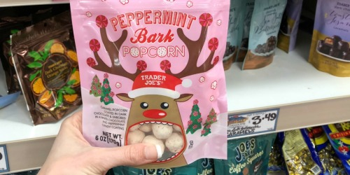 New Trader Joe's Holiday Items & Fun Food Deals: Peppermint Popcorn, Hot Cocoa & More