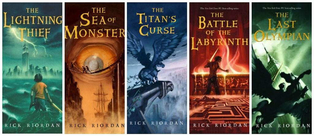 Percy Jackson book set