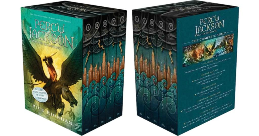 Percy Jackson boxed book set
