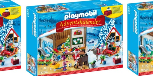 PLAYMOBIL Santa's Workshop Advent Calendar Only $14.99 (Will Sell Out)