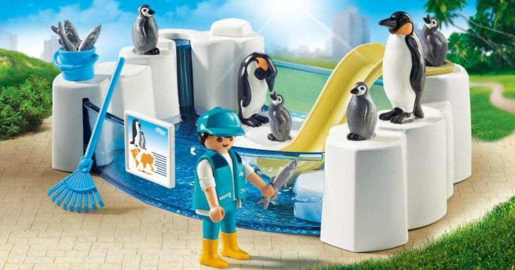 Playmobil Penguin set