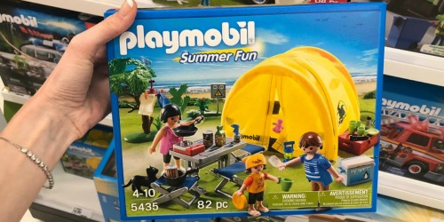 Playmobil Family Camping Set Just $7.47 (Regularly $18)
