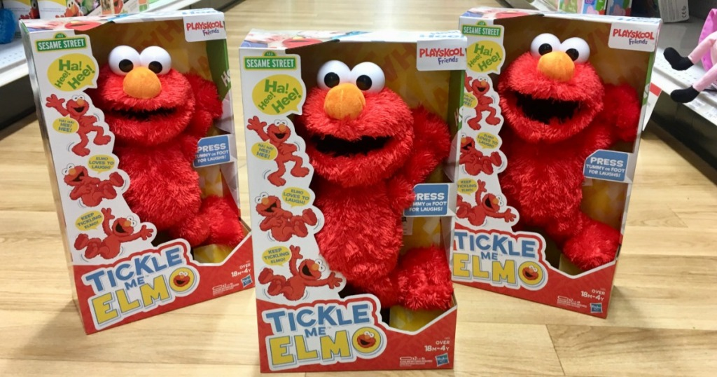 Target Redcard Holders Playskool Sesame Street Tickle Me Elmo Only