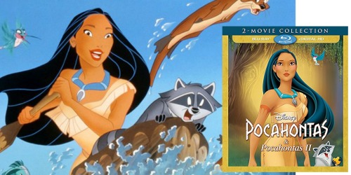Disney's Pocahontas & Pocahontas II Blu-ray 2-Movie Collection Only $11.96 Shipped (Regularly $30)