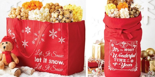 50% Off The Popcorn Factory Holiday Gifts + Free Shipping w/ ShopRunner