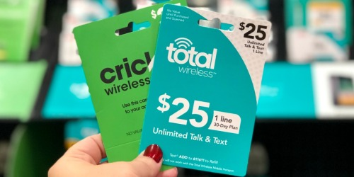 $5 Off Prepaid Phone Cards at Target | AT&T, Total Wireless & More