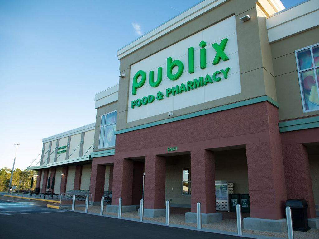 Publix Store Front - Veteran's Day discount