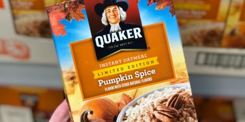 Free $5 Walmart eGift Card w/ $15+ Quaker Purchase (In-Store or Online)