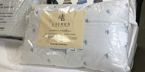 Ralph Lauren Pillows Only $6.99 at Macy's (Regularly $20)
