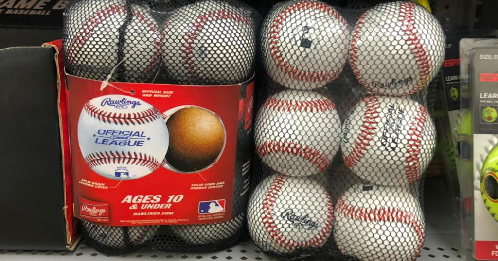 Rawlings Bucket of Baseballs Only $7 83 (Regularly $13) +