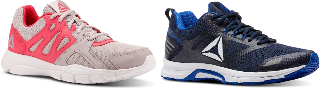 Reebok women's and men's shoes