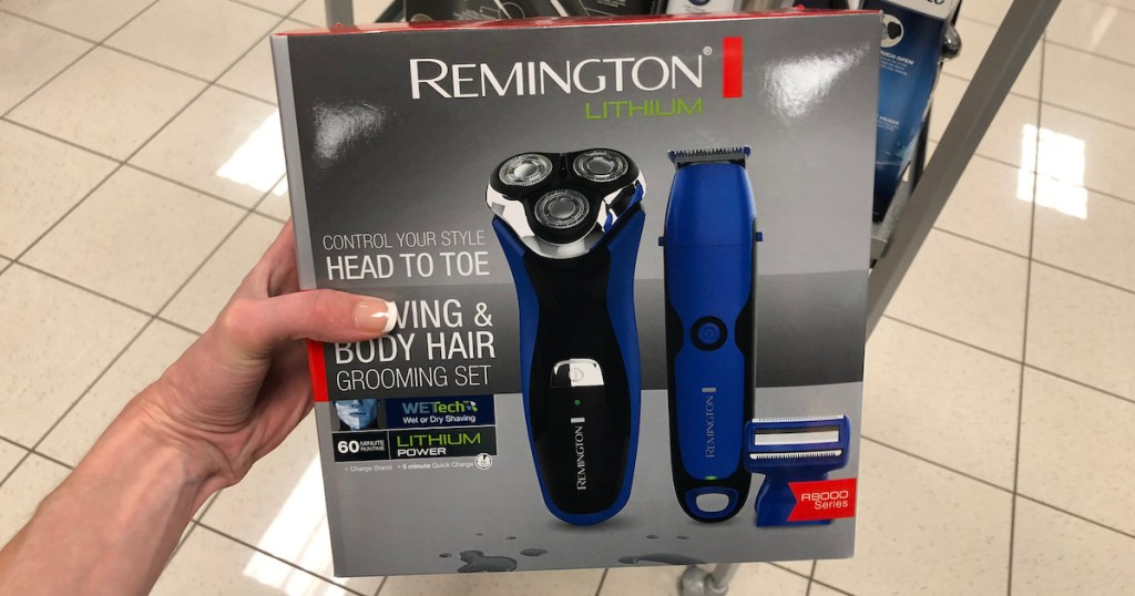 Remington Shaver Groomer Set As Low 5 99 Shipped After Rebate Earn Kohl S Cash Regularly 200