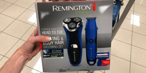 Remington Shaver & Groomer Set as Low as $19.99 Shipped After Rebate (Regularly $200) + Earn Kohl's Cash