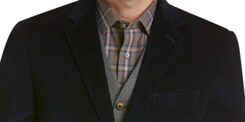 Jos A. Bank Reserve Collection Corduroy Jacket Only $19.98 Shipped (Regularly $200) & More