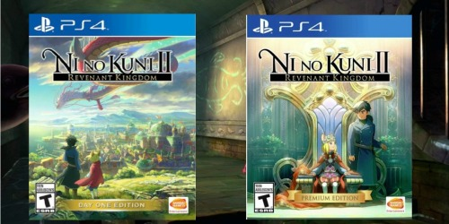 Ni No Kuni II: Revenant Kingdom Games for Playstation 4 as Low as $18.99 (Regularly $30+)