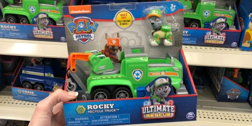 PAW Patrol Rocky's Recycling Truck Just $3.97 at Walmart (Regularly $13)