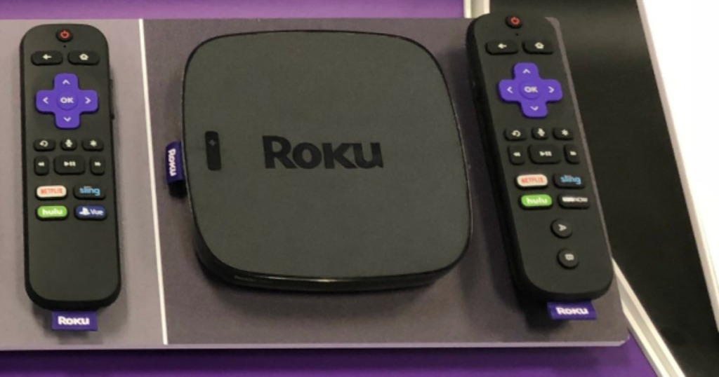 Roku Ultra on display at store