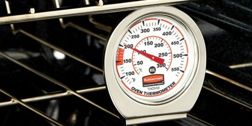 Amazon: Rubbermaid Stainless Steel Oven Monitoring Thermometer Only $5 Shipped (Regularly $17)