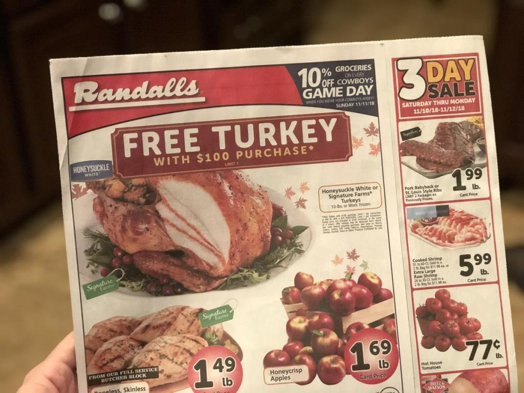 Safeway Free Turkey promotion