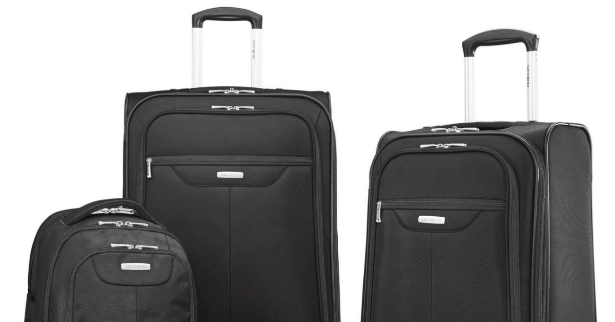 db76b09e3 Head on over to eBay where you can score this Samsonite Tenacity 3 Piece  Luggage Set for $79.99 shipped (regularly $270). This seems to be a really  good ...