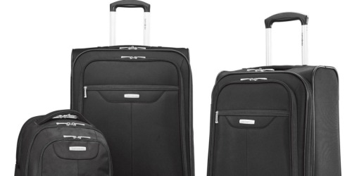 Samsonite Tenacity 3 Piece Luggage Set Only $79.99 Shipped (Regularly $270)