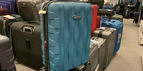 Samsonite Hardside Spinner Luggage Carry-On Only $97.49 Shipped (Regularly $260) + $10 Kohl's Cash