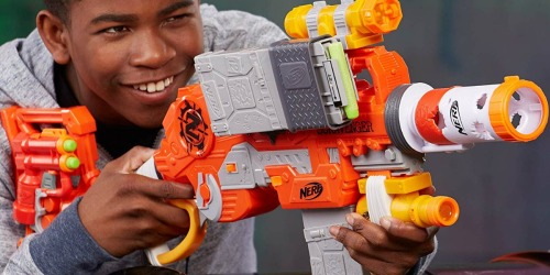 Scravenger Nerf Blaster w/ Two 12-Dart Clips, 26-Darts & More As Low As $18.74 Shipped (Regularly $50)