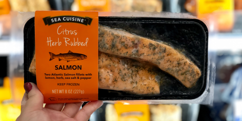60% Off Sea Cuisine Atlantic Salmon at Target